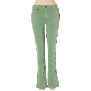 NWT Gap Green Skinny Leg Khakis Size 0